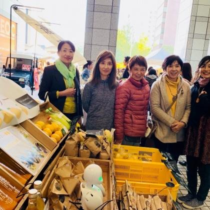 「青山ファーマーズマーケット行ってきました♪」 ー初出店レポートその①〜!ー