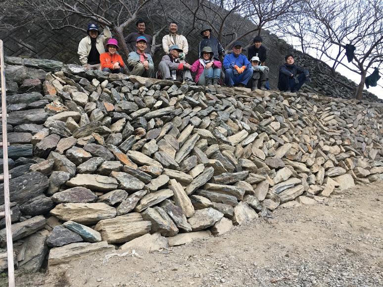 募集!10/17(土)しあわせみかん山で石積学校開催します